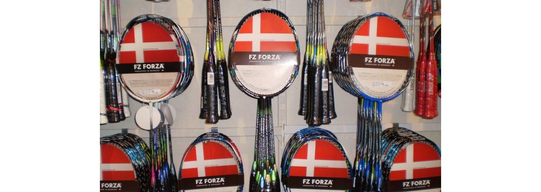 Kampagne p&aring; Forza badmintonketchere<br>