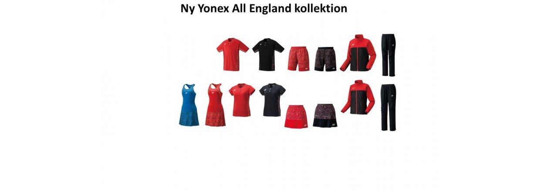 Ny Yonex All England kollektion<br>