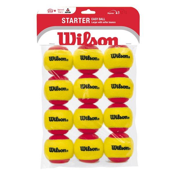 Wilson Starter red - stage 3 (12 stk.)