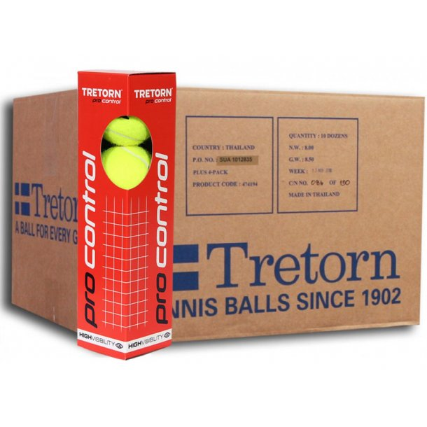 Moderne Tretorn Pro Control (4 Bolde) - Tretorn - Transocean Sport A/S EP32