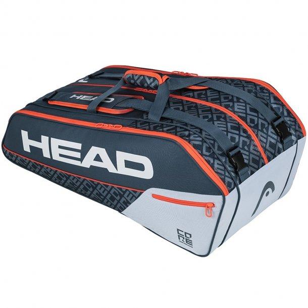 Head Core Super Combi 9R (grå/orange)