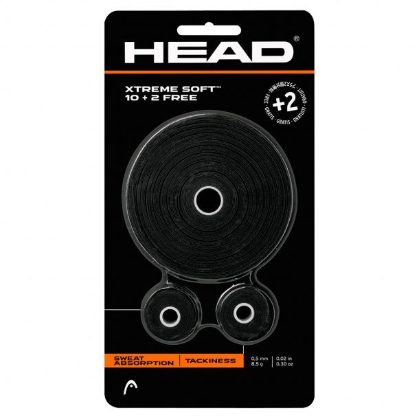 Head Xtreme Soft Overgrip (12 stk.)
