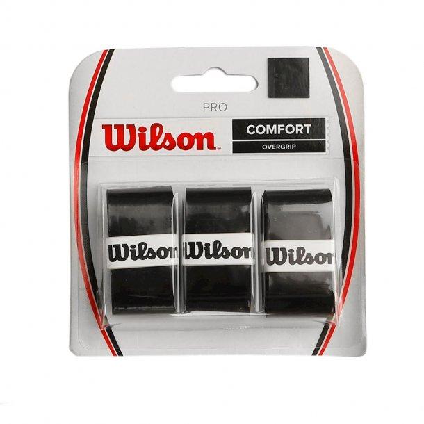 Wilson Pro Overgrip Sort (3-stk)