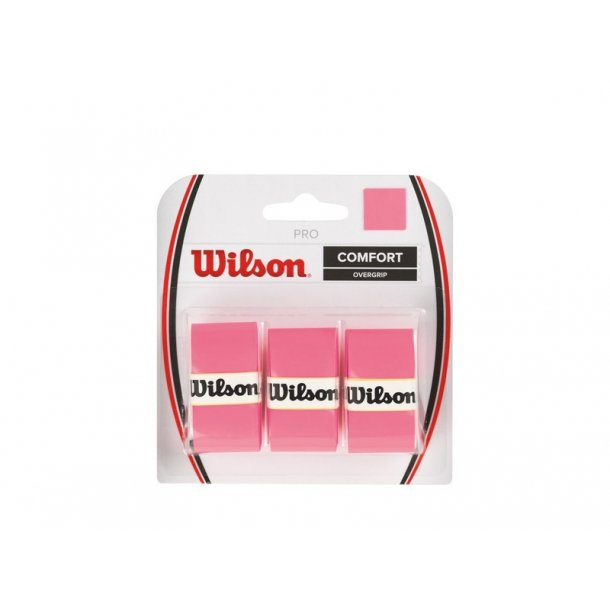Wilson Pro Overgrip Pink (3-stk)