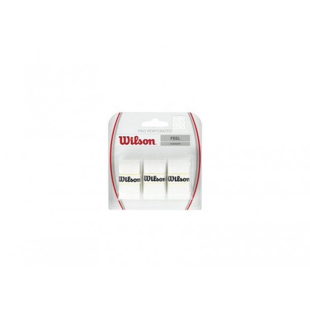 Wilson Pro Overgrip Perforated (3-stk)