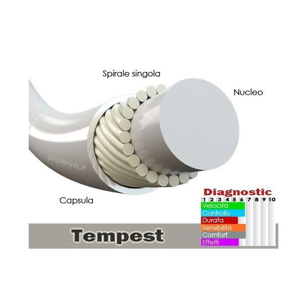 ProTennis Tempest 1.35 - orange - 200m