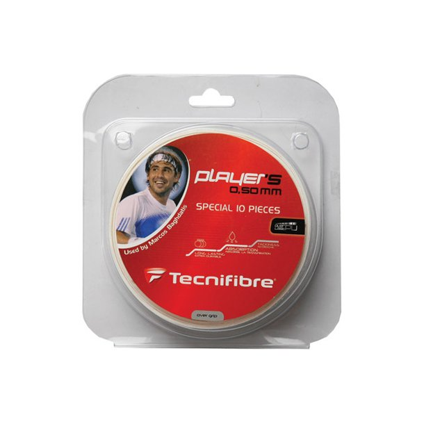 Tecnifibre Player's grip rulle (10 stk.)